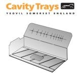 Advantage Range Unleaded 330mm Intermediate Cavity Tray - Right Hand
