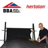 Hertalan Contractor Grade 1.2mm EPDM Made to Measure - Price per m2