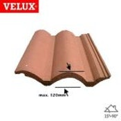 VELUX EDW MK06 0000 Single 120mm Tile Flashing - 78cm x 118cm