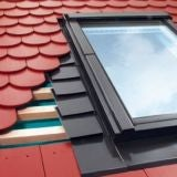 EHN - A/35 Fakro Single Flashing For Tiles Up To 90mm - 114cm x 60cm