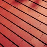 Dreadnought Premium Clay Roofing Tile - Plum Red Smooth