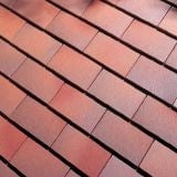 Dreadnought Premium Clay Eaves Tile - Brown Antique Smooth
