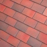 Dreadnought Premium Clay Roofing Tile & Half - Brown Antique Sandfaced