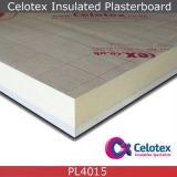 Celotex PL4015 27.5mm Insulated Plasterboard 1.2m x 2.4m