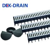 Channel Drainage 3m Garage Pack with Galvanised Grates - Dek Drain