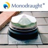 Diamond Dome Sunpipe 450mm Slate Roof Kit Up To 45dg Pitch