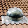 Diamond Dome Sunpipe 230mm Gallery Bold Tiled Roof Kit & 610mm Length