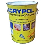 Acrypol Acrylic Waterproof Coating (With No Fibres) 20kg Drum - Grey