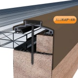 ALUKAP-XR 60mm Gable Bar Brown - 3.6m