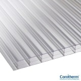 Corotherm 16mm Clear Triplewall Polycarbonate Sheet - 2000mm x 800mm
