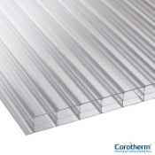 Corotherm 16mm Clear Triplewall Polycarbonate Sheet - 3000mm x 1220mm