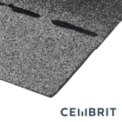 Cembrit Square Butt Bitumen Roofing Shingles (Grey) - 3m2 Pack