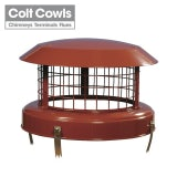 Colt Cowls High Top Stainless Steel Birdguard - 170mm to 250mm