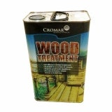 Cromar Wood Treatment in Dark Brown 5 Litres - Box of 4