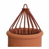 Decorative Chimney Bird Guard - Terracott