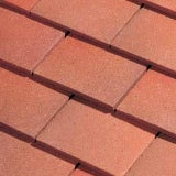 Dreadnought Premium Clay Roofing Tile & Half - Country Brown Smooth