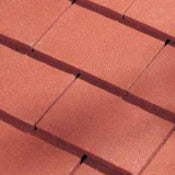 Dreadnought Premium Clay Roofing Tile & Half - Red Sandfaced