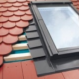 FAKRO EPV-B3/1/80 Horizontal Triple Flashing For Up To 16mm Plain Tiles - 94cm x 160cm
