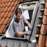 VELUX EW CK04 0000 Single Tile Replacement Flashing - 55cm x 98cm