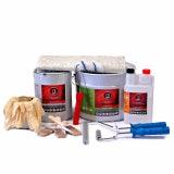 Roofing Superstore Fibreglass Roofing Kit With Tools - 15m2