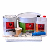 Roofing Superstore Fibreglass Roofing Kit With Tools - 1m2