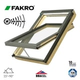 Fakro FTP-V P2/04 Z-Wave Pine Centre Pivot Window - 66cm x 118cm