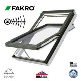 Fakro FTU-V P2/08 Z-Wave White PU Centre Pivot Window - 94cm x 118cm