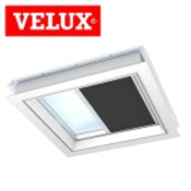 VELUX FMK 060090 1047 Electric Light Dimming Energy Blind - Charcoal