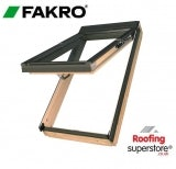 Fakro FPP-V P2/16 Pine Dual Top Hung Window Laminated - 55cm x 118cm