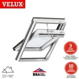 VELUX GGL MK12 207030 White Centre Pivot Solar INTEGRA Window - 78cm x 180cm