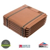 Envirotile Plastic Lightweight Roofing Tile in Terracotta - Pack of 10