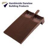 Hambleside Danelaw Flush Fit Plain Roof Tile Vent - Antique Red