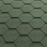 Katepal Super KL Hexagonal Bitumen Roofing Shingles (3m2) - Green