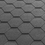 Katepal Super KL Hexagonal Bitumen Roofing Shingles (3m2) - Grey