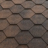 Katepal Super Jazzy Hexagonal Felt Roofing Shingles (3m2) - Copper