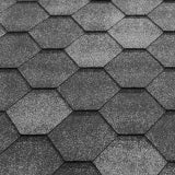 Katepal Super Jazzy Hexagonal Felt Roofing Shingles (3m2) - Grey
