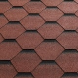 Katepal Super Katrilli Hexagonal Felt Roofing Shingles 3m2 - Red
