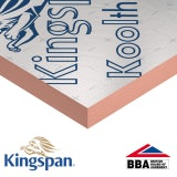 Kingspan Kooltherm K107 Pitched Roof Insulation Board 50mm - 17.28m2 Pack