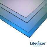 Liteglaze UV Protected Clear Acrylic Glazing Sheet 1.2m x 600mm x 2mm