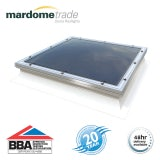 Mardome Trade Triple Skin Fixed Rooflight in Clear - 900mm x 900mm