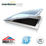 Mardome Trade Double Skin Opening Rooflight in Bronze - 750mm x 750mm