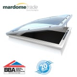 Mardome Trade Double Skin Electric Rooflight in Opal - 1050mm x 1500mm