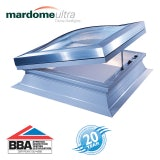 Mardome Ultra Double Skin Electric Rooflight in Clear - 1200mm x 1800mm