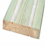 Marley CitiDeck Anti Slip Smooth Decking 2400mm x 145mm x 28mm - Pack of 2