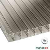 Marlon 25mm Bronze Sevenwall Polycarbonate Sheet - 3000mm x 1050mm