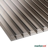 Marlon 16mm Bronze Triplewall Polycarbonate Sheet - 6000mm x 610mm