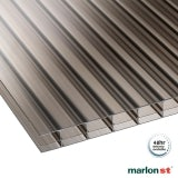 Marlon 16mm Bronze Triplewall Polycarbonate Sheet - 4000mm x 980mm