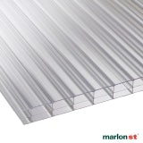 Marlon 16mm Clear Triplewall Polycarbonate Sheet - 6000mm x 1050mm