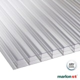 Marlon 16mm Clear Triplewall Polycarbonate Sheet - 4000mm x 700mm