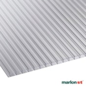 Marlon 6mm Clear Twinwall Polycarbonate Sheet 6000mm x 2100mm